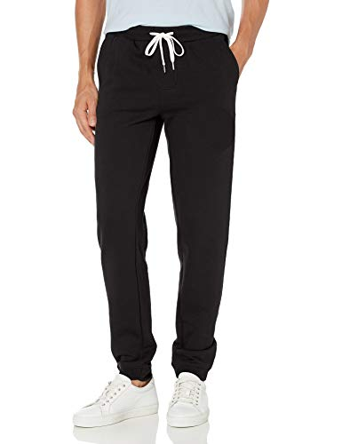 Quiksilver Men's Essentials Fleece Pant, Black, S