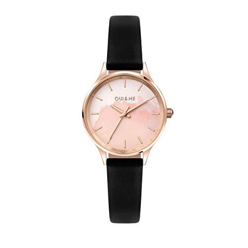 Oui & Me Reloj Mujer, Colección BICHETTE, Solo Tiempo, 3H, Caja 28mm - ME010275