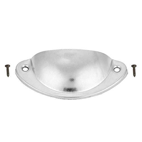 Schuifladengreep, meubelknop van metaal voor ladekasten, antieke schaal, stootgreep, handservies zilver