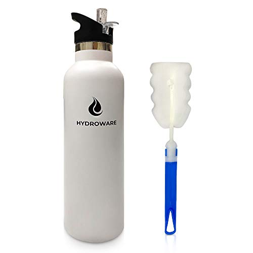 HYDROWARE 25 oz Vacuum Insulated Stainless Steel Water...