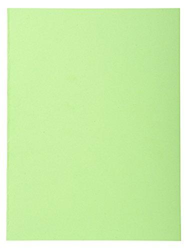 Exacompta 410013E - Lote de 100 Subcarpetas Forever® 250, Color Verde