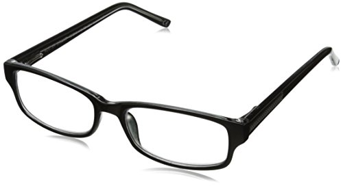 Foster Grant James Multifocus Glasses, Black, 1.75