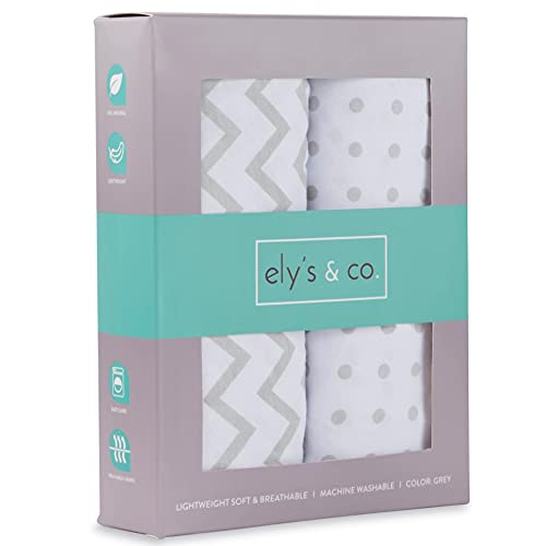 Product Image of the Changing Pad Cover Set, Cradle Sheet 2 Pack 100% Jersey Cotton Unisex Sheets for...