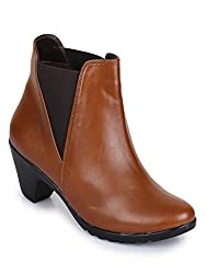 Bruno Manetti Women Faux Leather Heel Boots
