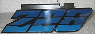 The Parts Place Camaro Z28 Grille Emblem With Retainer - Blue