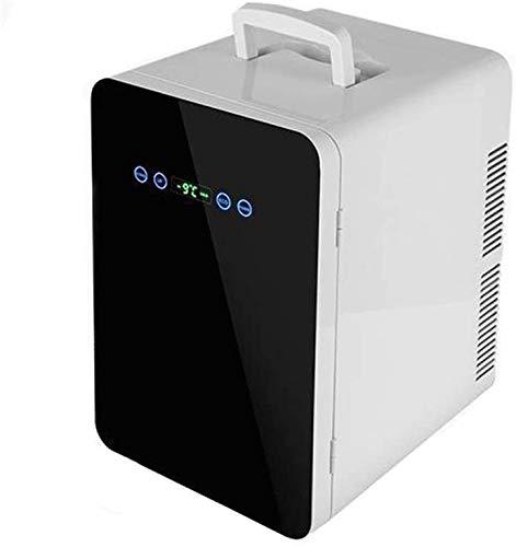 Refrigerador refrigerador del coche, congelador 24 l nevera portátil nevera de compresor,Black