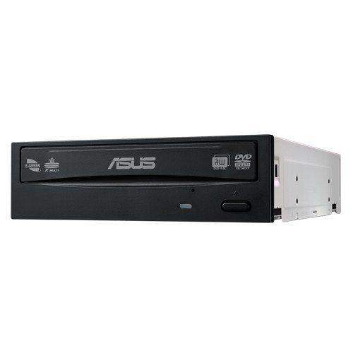 Asus DRW-24D5MT Interne DVD Super Multi DL, optisches Laufwerk (Schwarz, Platte, vertikal/horizontal, Büro, SATA)