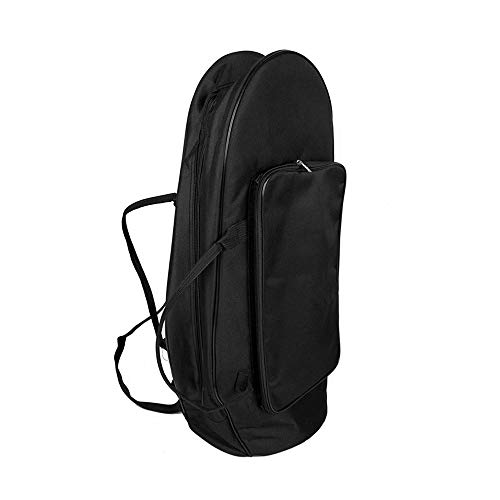 Muslady Euphonium Gig Bag Baritone Case Premium Abrasion Cloth with Straps Large Capacity