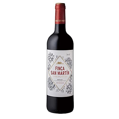 Vino tinto Finca San Martin de 75 cl - D.O. La Rioja - Bodegas Torre de Oña (Pack de 1 botella)