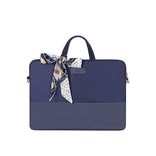 Funda para portátil para MacBook Air 13 de 14 pulgadas, color azul