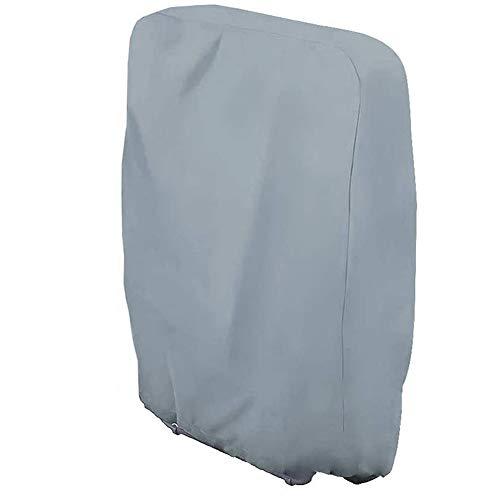 Silvotek Schutzhülle liegestuhl klappbar - abdeckhaube gartenliege klappbar, wasserdicht abdeckhaube für sonnenliege klappbar klappliegestuhl Abdeckhauben(Größe: 71 cm L x 34 cm W x 110 cm H)