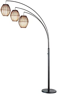 Adesso Maui Arc Lamp, Antique Bronze