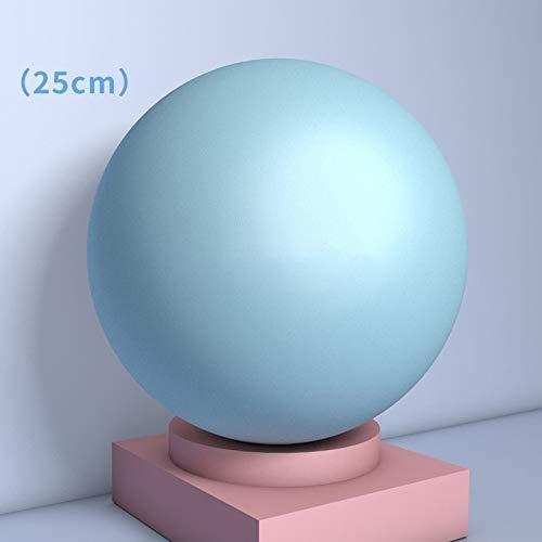Explosionsgeschützte Gymnastikball, 25cm Yoga-Ball, verdickte rutschfeste Balance Ball for Pilates Geburt Therapie Physiotherapie Haus Fitness-Studio Büro Ball Stuhl mit Einblasröhre Luftsteckern Erst