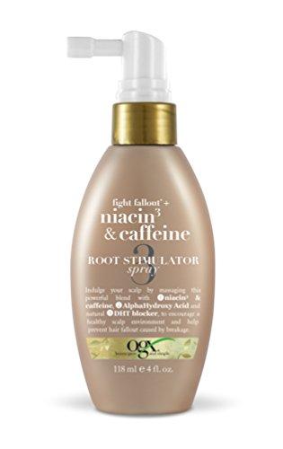 Price comparison product image Organix Fight Fallout Plus Root Stimulator Spray,  Niacin & Caffeine,  4 Fluid Ounce