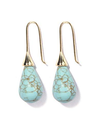 VintFlea Gemstone Earrings for Women