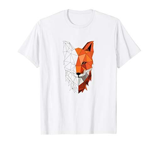 Fuchs T-Shirt Low Polygon T-Shirt