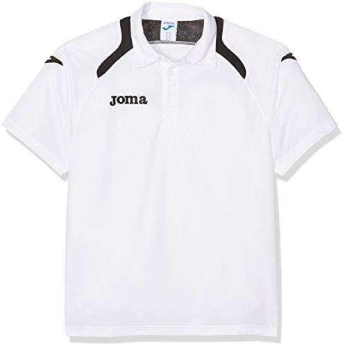 Joma 1007S12.18 Polo Sportswear, Blanc/Noir, FR : 4 Ans (Taille Fabricant : 04)