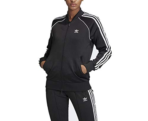 adidas SST Tracktop PB Sudadera, Mujer, Negro (Black/White), 34