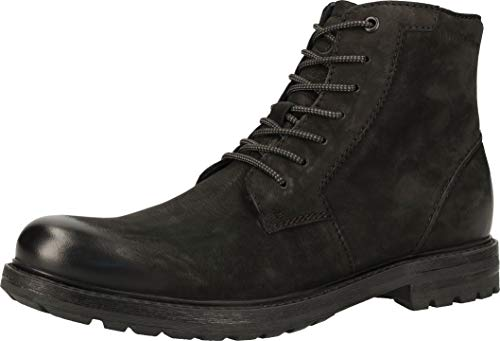 bugatti Herren 311A10313500 Oxford-Stiefel, schwarz, 42 EU