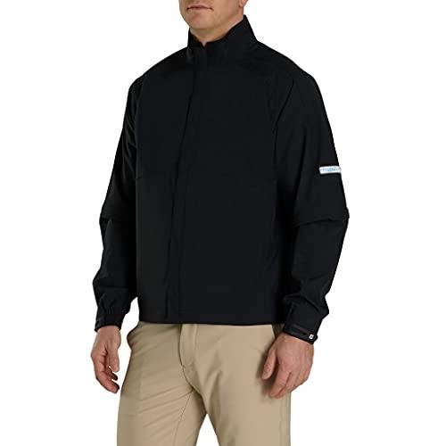 FootJoy Men's Hydrolite Golf Rain Jacket (L, Black)