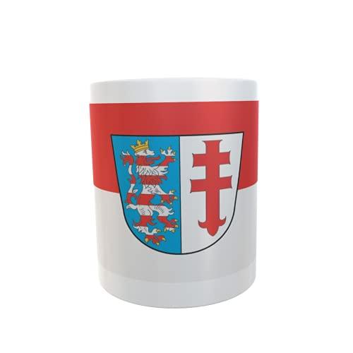 U24 Tasse Kaffeebecher Mug Cup Flagge Bad Hersfeld