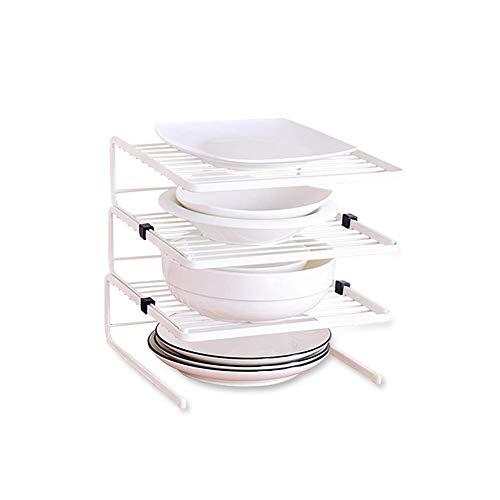 Keukengerei mand met 3 niveaus onder de gootsteen/op kasten, multifunctionele keukenhulp, organizer, opbergruimte voor spullen, deelbaar fdsdsfd