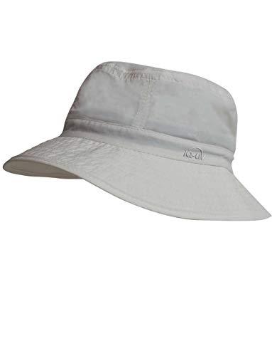 iQ-UV Erwachsene Bucket Hat Sonnenhut, grey, 55-61cm