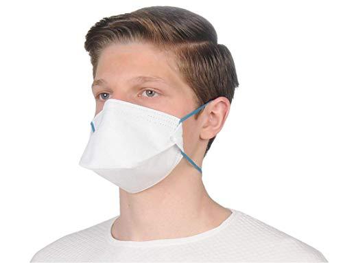 ALCLEAR 10er Set FFP2 antivirale Atemschutzmaske, face mask Partikelfiltrierender Atemschutz, Feinstaubmaske, leichteres Atmen als mit FFP3 - 2