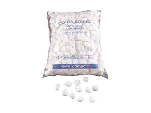 Coton blanc Sachet de 700 boules