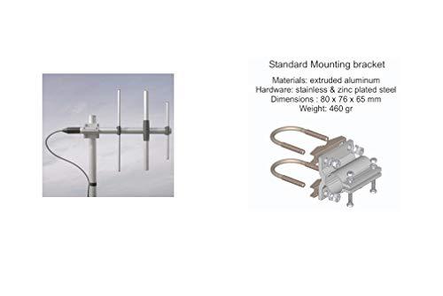 SIRIO WY400-3N ANTENNA DIRETTIVA 3 ELEMENTI YAGI UHF 400-470 MHz NESSUNA TARATURA RICHIESTA