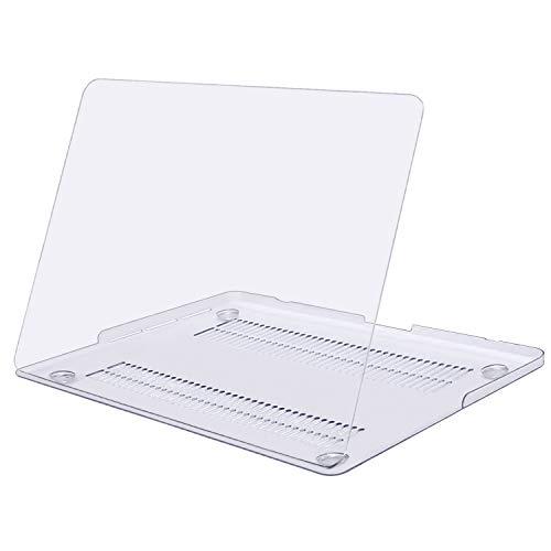 MOSISO Funda Dura Compatible con MacBook Pro 13 Retina A1502 / A1425 (Versión 2015/2014/2013/fin 2012), Ultra Delgado Carcasa Rígida Protector de Plástico Cubierta, Claro/Cristal
