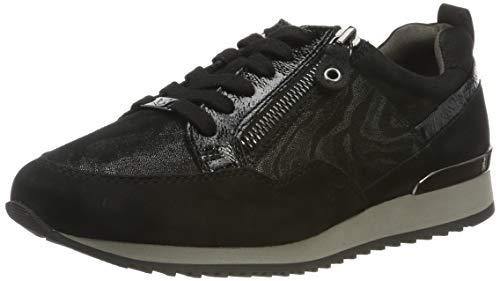 CAPRICE Damen Ginga Sneaker, Schwarz (Black Zebra CO 91), 40 EU