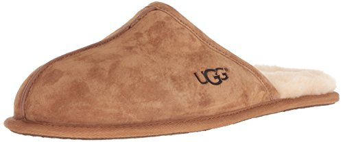 UGG Men's Scuff Slipper, chestnut, 10 M US