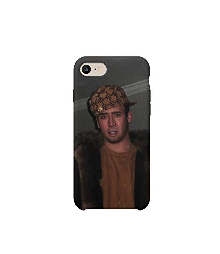 GlamourLab Nicolas Cage Rapper Gangsta Protective Case Cover Hard Plastic for iPhone 6 / iPhone 6s Gift Christmas