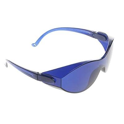 JoannaVI IPL Laser Safety Glasses, IPL Protective Red Light Safety Goggles Protection Glasses 200-1200nm,for Beauty Operator Safety Protective E light Red Laser Color Light Safety