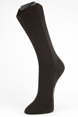 Lindner socks Zinksocken - Neurodermitikersocken, 44-46, schwarz