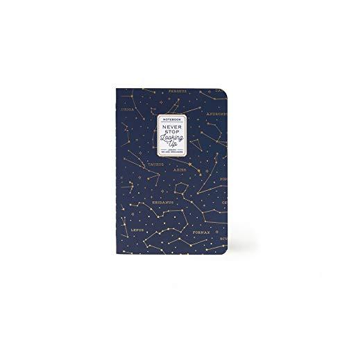 Legami A6NOT0014 - Quaderno a Righe, Small, Multicolore (Stars)