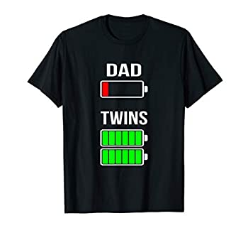 twins dad shirt
