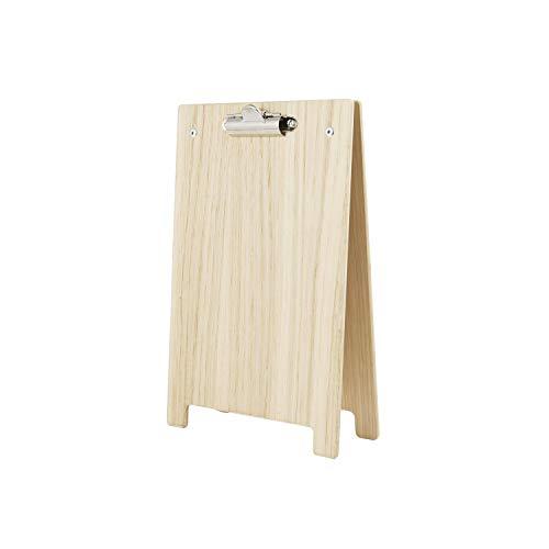 Chalkboards UK Klemmbrett, A-Rahmen, Holz, Holz, Natur, A5 (25.8 x 16.8 x 6cm)