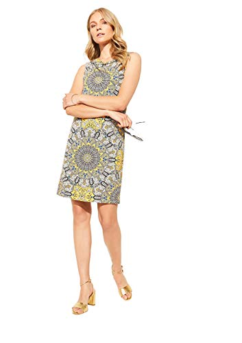 Comma Womens 81.006.82.5500 summer-dress Dress, 81f0, 42