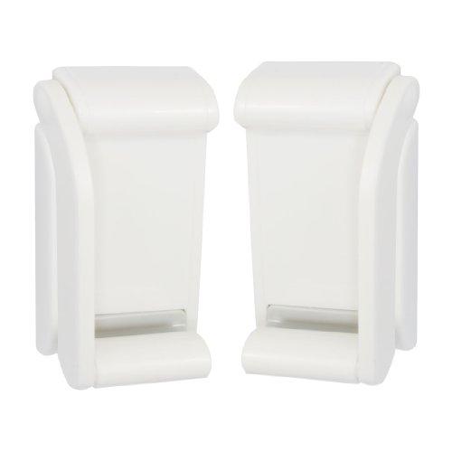 Top 10 best selling list for plastic adjustable magnet toilet paper tissue holder bracket white