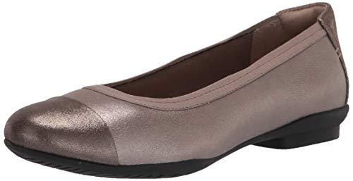 Clarks Sara Orchid, Zapatos Tipo Ballet Mujer, Cuero Metalizado, 38 EU