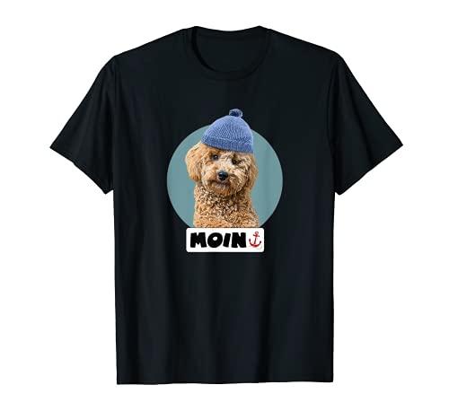 Moin Spruch Motiv Pudel-mütze Design Norden Norddeutsch-land T-Shirt