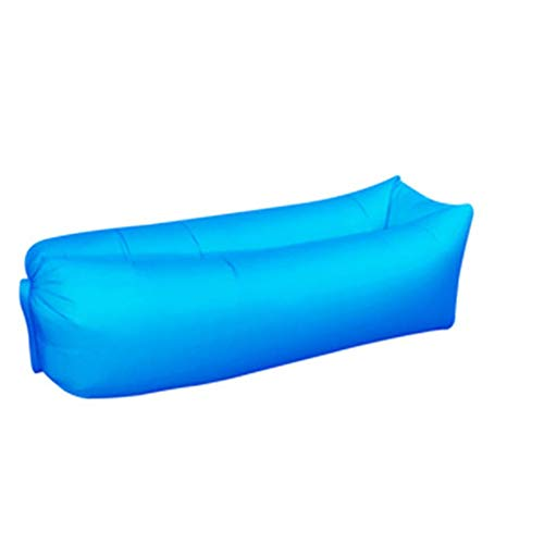 Lettino gonfiabile Divano ad aria Blow Up Beach Loungers Mobili per esterni portatili perfetti per l'escursionismo per la piscina da viaggio Campeggio Pacchetti da viaggio Piccola vacanza Sun Bathing