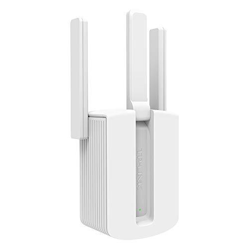 Repetidor inalámbrico WIFI, 450M con amplificador de alcance de wifi de antena externa, amplificador de señal de enrutador wifi, indicador LED inteligente para mejorar la cobertura de Wi-Fi ZDDAB