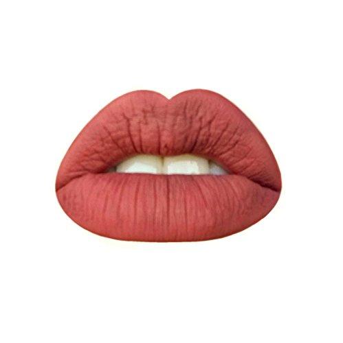 Rebel Rose-Makeup by DNA- Liquid Lipstick- Matte- Vegan