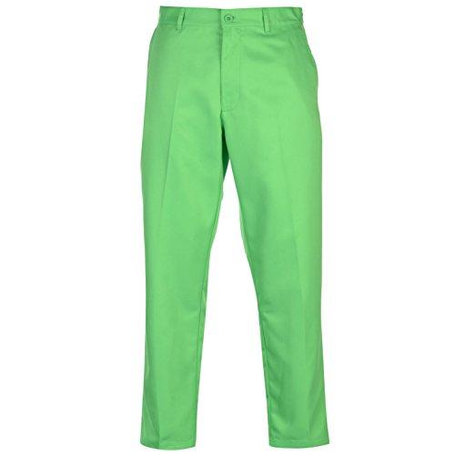 Slazenger Herren Golf Hose Golfhose Trainingshose Zip Grün 38W 31R