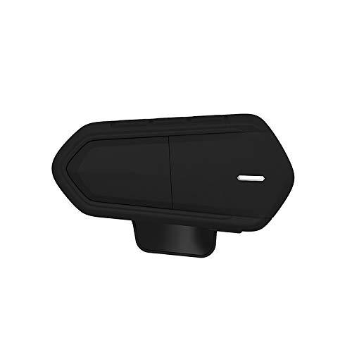 GHDAG Casco auriculares estéreo motocicleta Fm Radio Moto Bluetooth motocicleta Bluetooth auricular Bluetooth