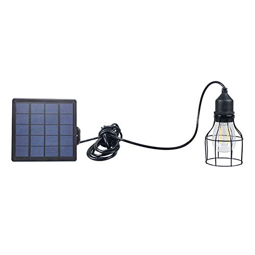 Matedepreso Klassieke zwarte hanglantaarn buitenverlichting op zonne-energie hanger lamp LED schuur licht voor tuin tuin terras huis