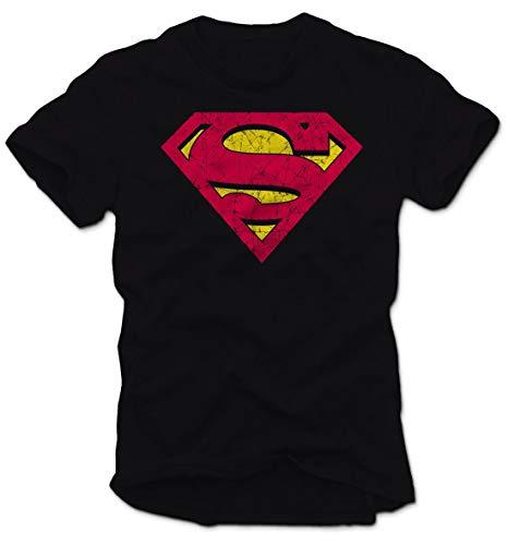 DC Comics T-Shirt Superman, Medium, Manica corta, Licenza ufficiale